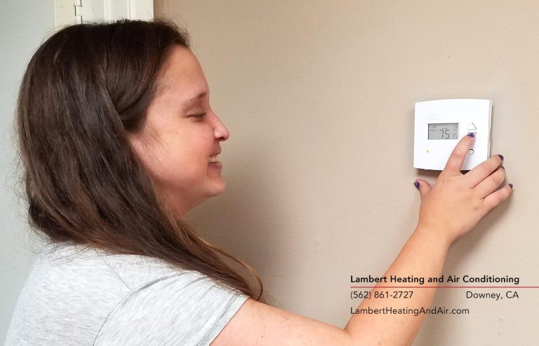 how to replace your thermostat in Downey CA